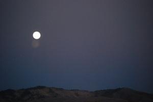 Harvest Moon Over Boise