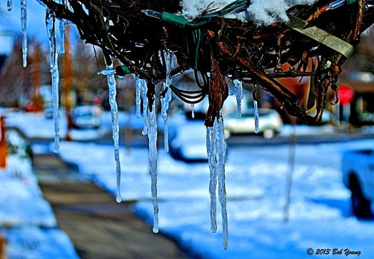 """Ice Wreath"" - Boise 11 Jan 2013. HDR"