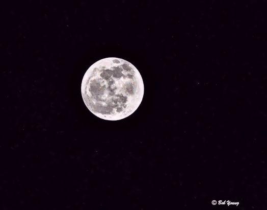 It is a beautiful full Moon.