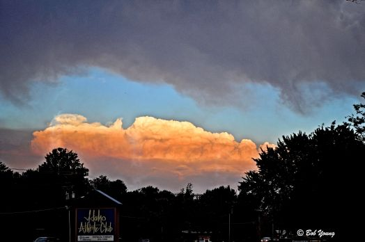"""Fire Storm"". About 50 miles east and 25 or so miles north of Boise. This was an awesome sight!"