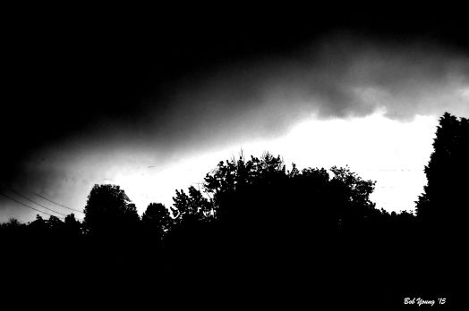 After The Storm in Black and White.