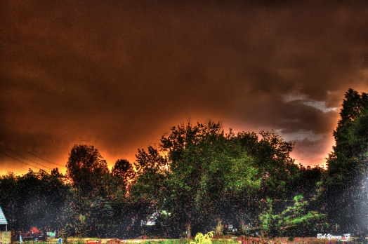 After The Storm. HDR